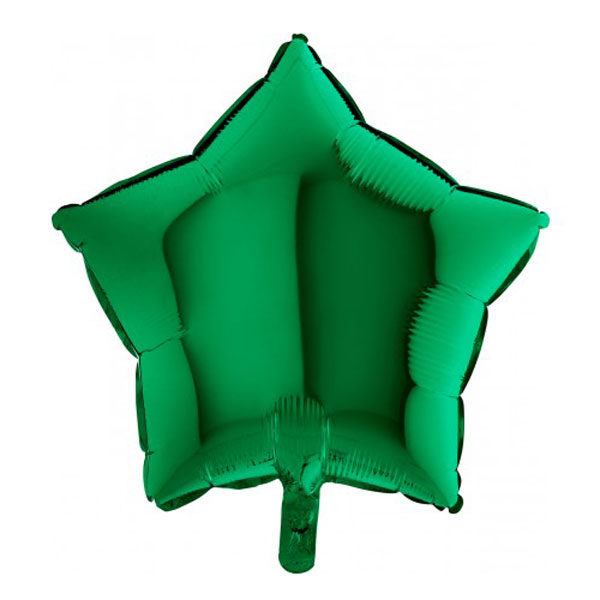 Folieballon ster groen