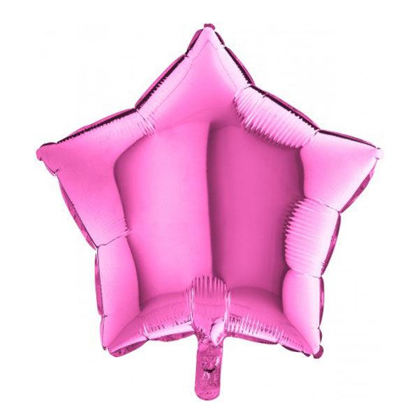Folieballon ster roze