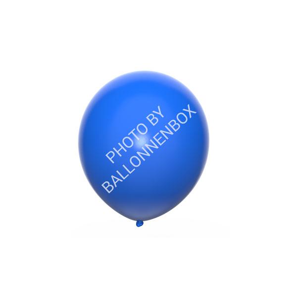 Blauwe ballonnen 13cm