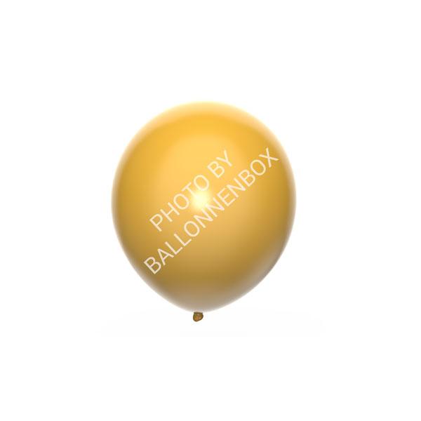 Gouden ballonnen 13cm