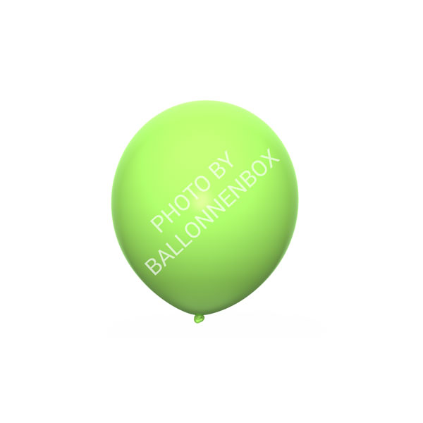 Lime groene ballonnen 13cm