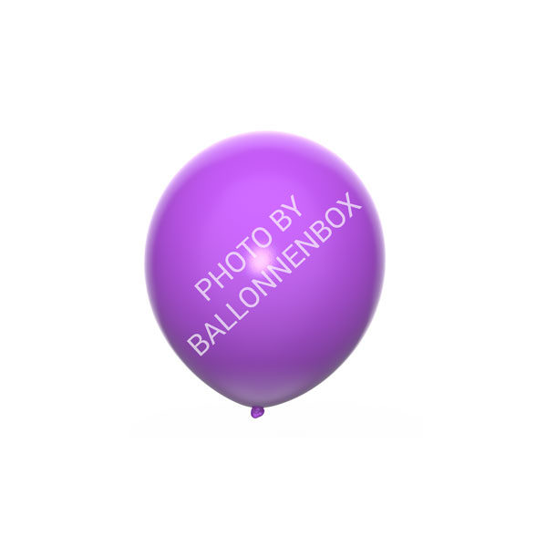 Paarse ballonnen 13cm