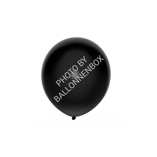 Zwarte ballonnen 13cm