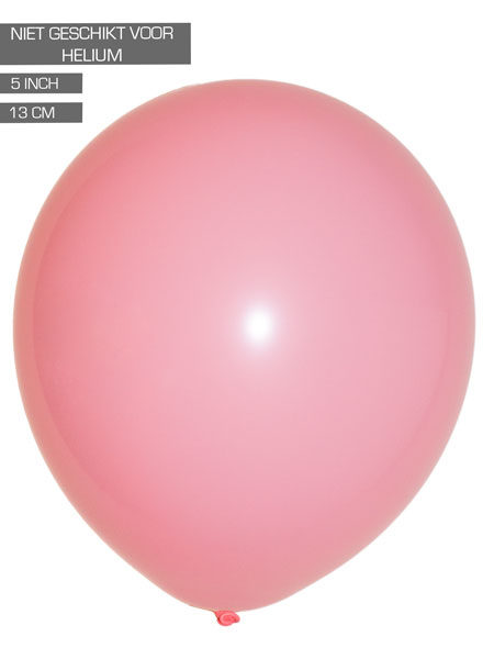 roze ballonnen 13cm