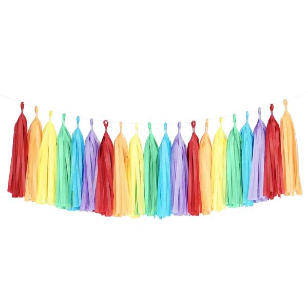 tassel slinger kleuren mix