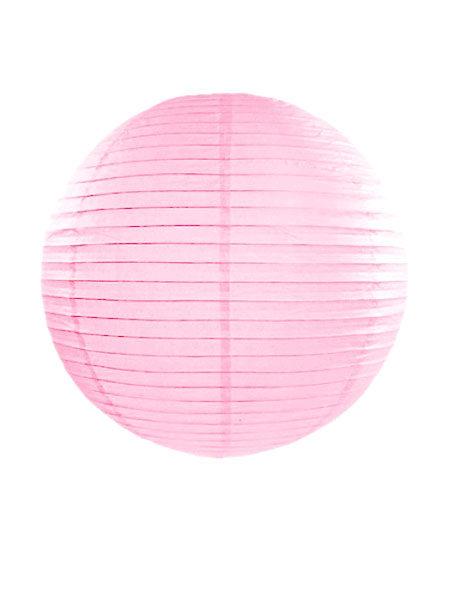 Lampion licht roze