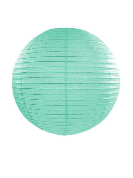 Lampion turquoise