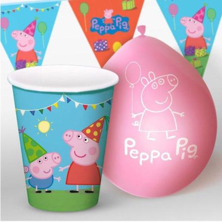 feestpakket peppa pig