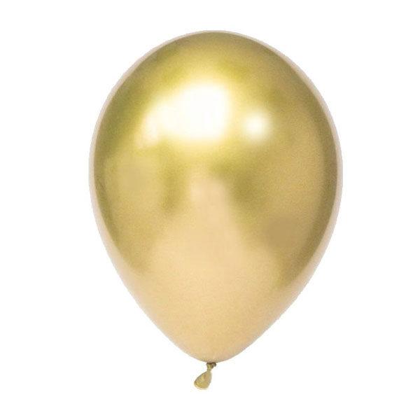 ballonnen goud chrome