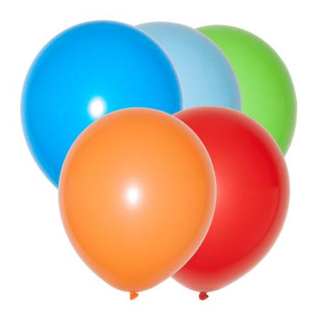 ballonnen assorti kleuren