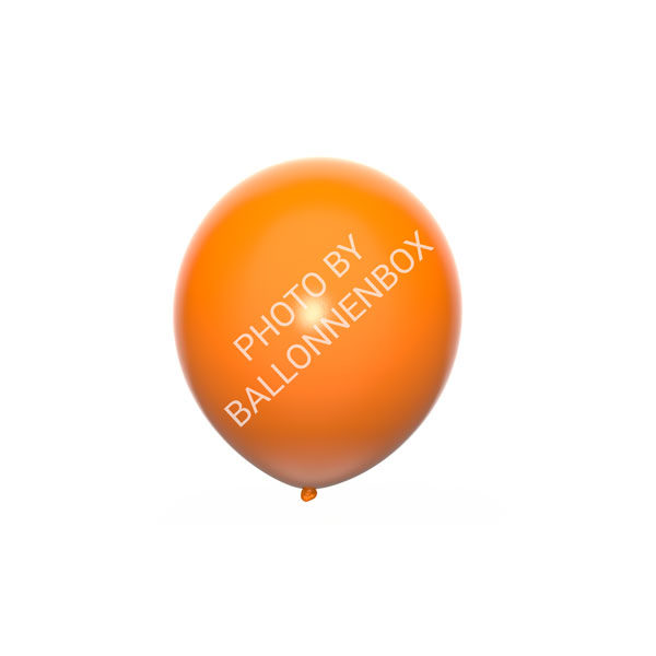 Oranje ballonnen 13cm