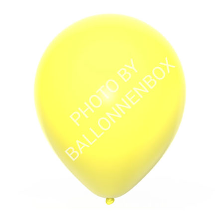 gele ballonnen 25cm