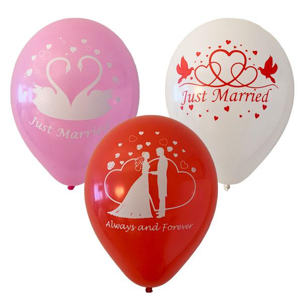just married ballonnen