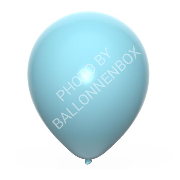 lichtblauwe ballonnen 25cm