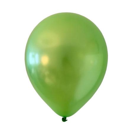 lime groene metallic ballonnen