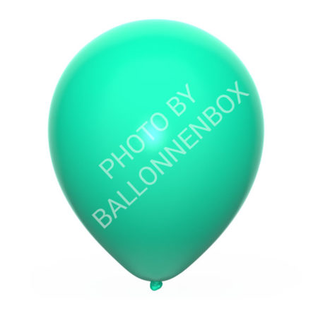 mint groene ballonnen 25cm