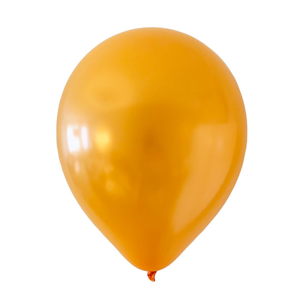 oranje metallic ballonnen