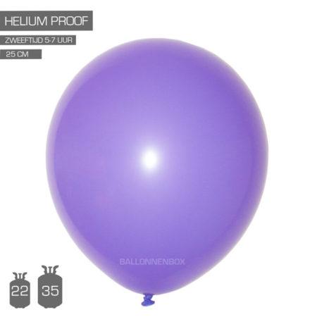 paarse ballonnen 25cm