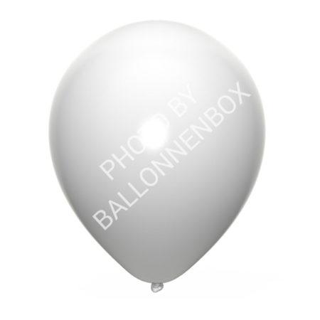 witte ballonnen 25cm