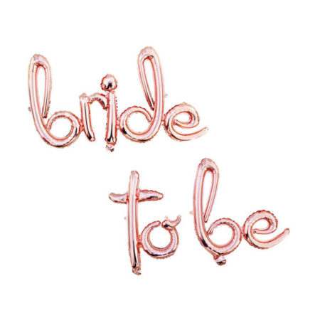 bride to be ballon