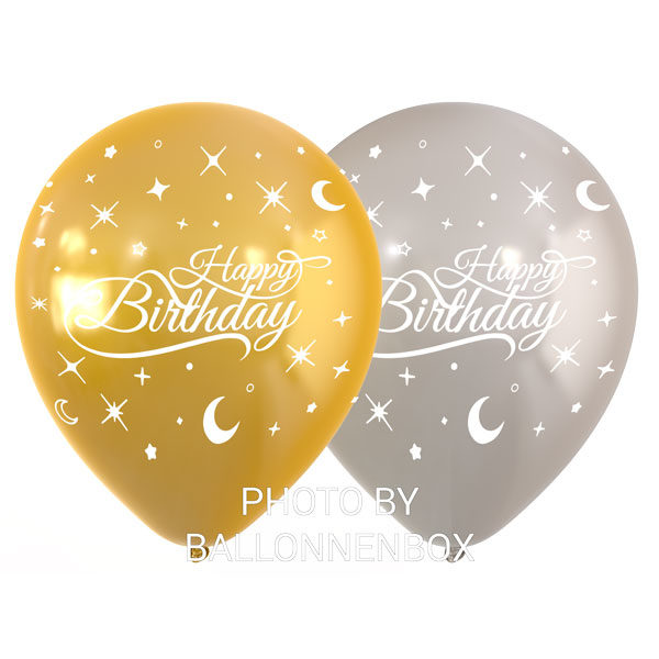 happy birthday latex ballonnen