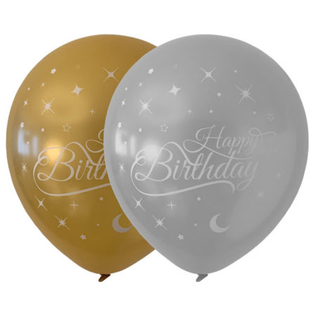 happy birthday latex ballonnen