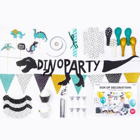 feestpakket dino party