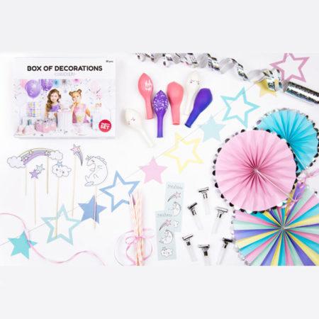 feestpakket unicorn party