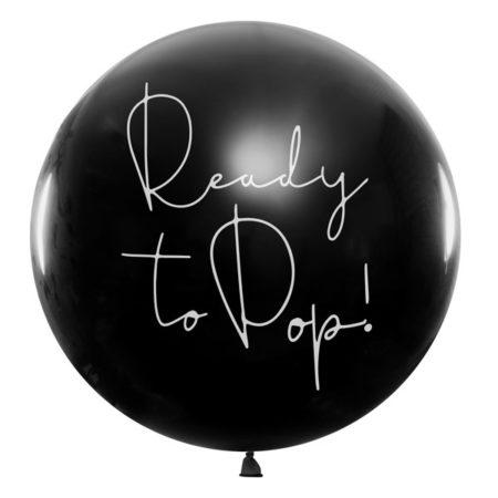 ready to pop ballon