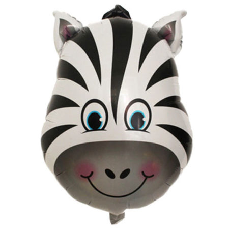 folieballon zebra