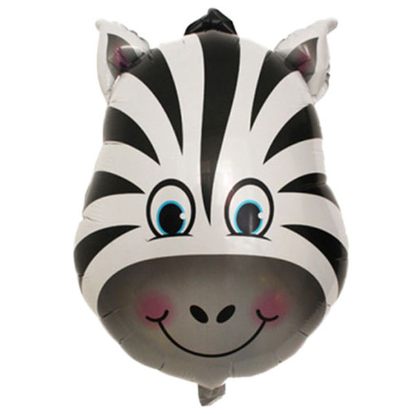 folieballon zebra