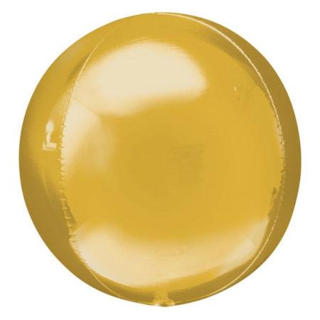 Orbz ballon goud