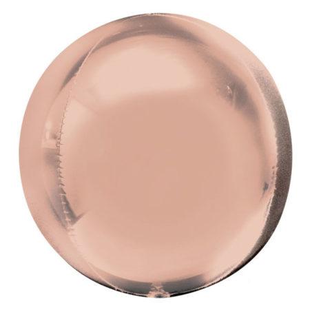 Orbz ballon rose goud