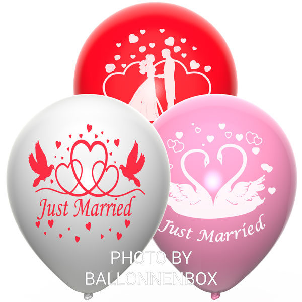 just married ballonnen