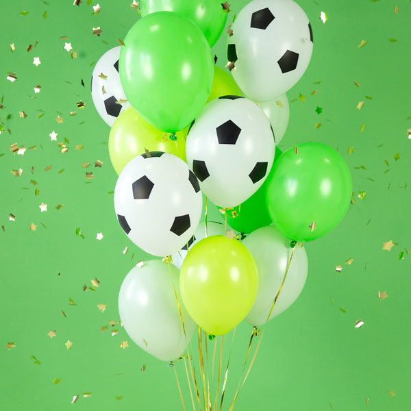 voetbal latex ballonnen