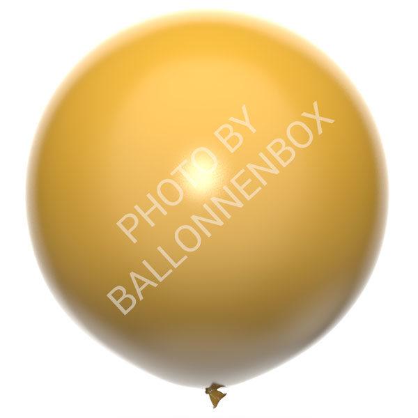 Grote gouden ballonnen