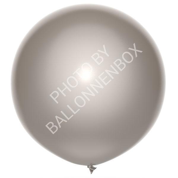 Grote zilveren ballonnen