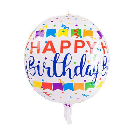 Orbz ballon verjaardag
