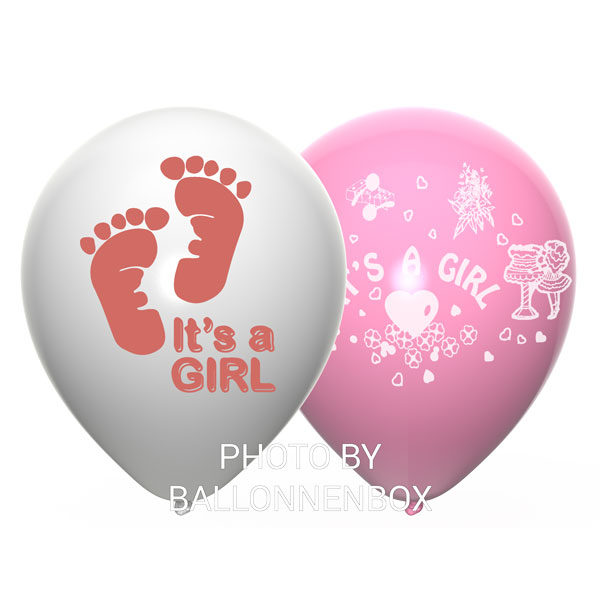 its a girl latex ballonnen