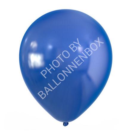 blauwe metallic ballonnen