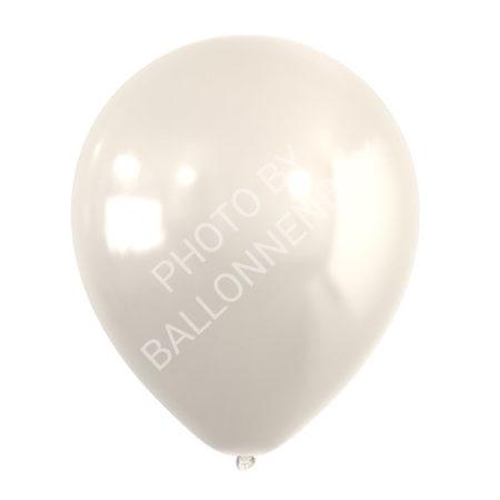 Parelmoer witte metallic ballonnen