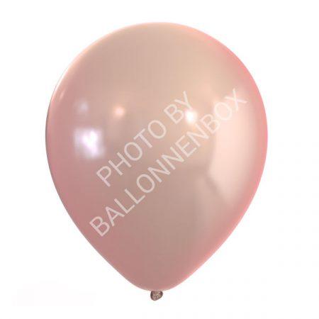 rose gouden metallic ballonnen