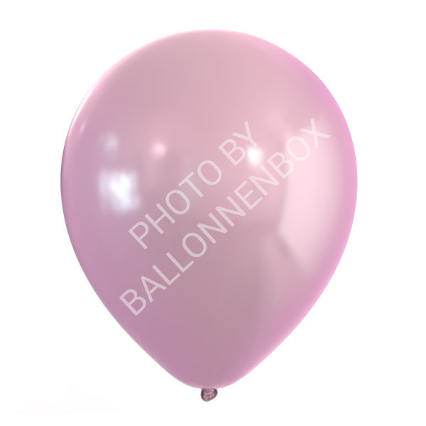 Roze metallic ballonnen