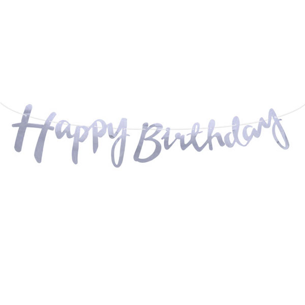 happy birthday slinger zilver