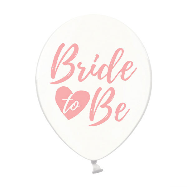 bride to be ballonnen roze
