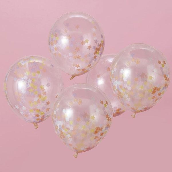 confetti ballonnen sterren
