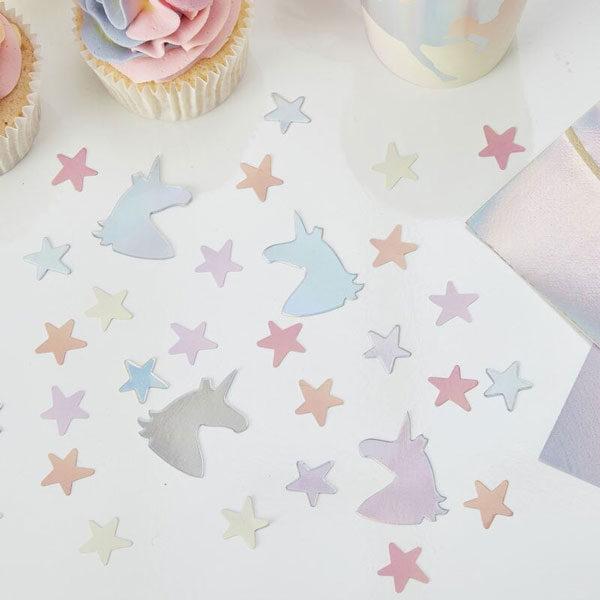 confetti unicorn sterren