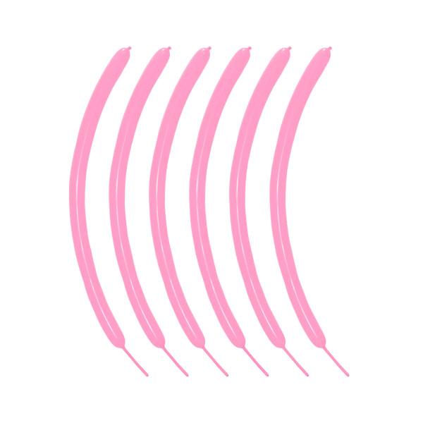 roze modelleerballonnen