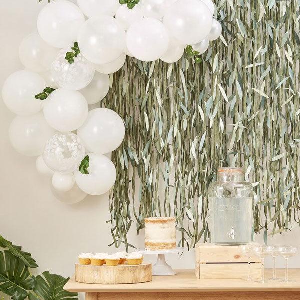 ballonnen slinger botanical babyshower