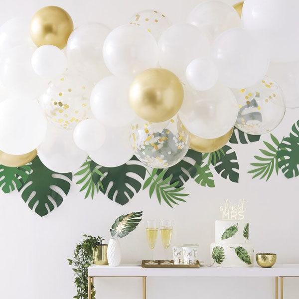 ballonslinger goud chrome
